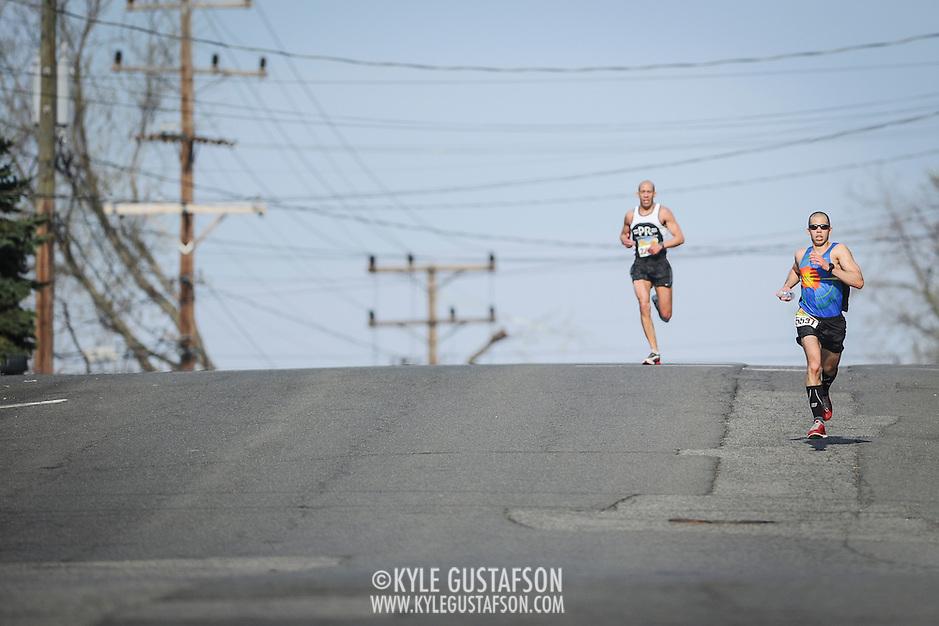 Photos from the 2014 George Washington Parkway Classic 10 Mile & 5K in Alexandria VA. Sunday, April 13, 2014. Photo by Kyle Gustafson/Swim Bike Run Photography. (Kyle Gustafson/Swim Bike Run Photography)