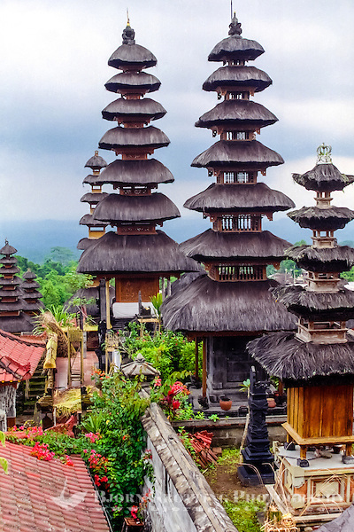 Bali, Karangasem, Besakih. The Mother Temple of Besakih, or Pura Besakih, on the slopes of Mount Agung. There are 22 temples in the complex. (Photo Bjorn Grotting)