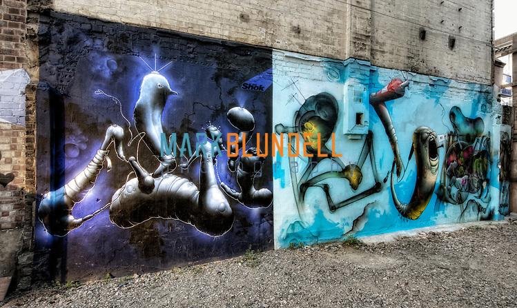 SHOK-1 in Burough, South London (Mark Blundell)