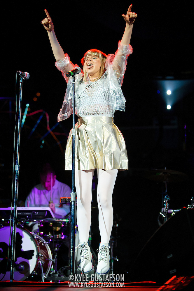 WASHINGTON, DC - July 8th, 2012 - Swedish pop sensation Robyn opens for Coldplay at the Verizon Center in Washington, D.C. (Photo by Kyle Gustafson) (Kyle Gustafson)