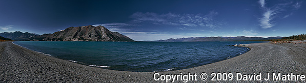 Kulane Lake Panorama. Composite of 8 images taken with a Nkion D3 camera and 24-70 mm f/2.8 lens (ISO 200, 35 mm, f/16, 1/40 sec). Raw images processed with Capture One Pro and the composite created with AutoPano Giga Pro. (David J Mathre)