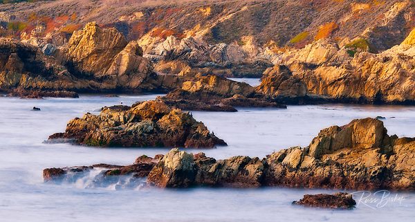 Rocky coastline at Soberanes Point, Garrapata State Park, Big Sur, California (Russ Bishop/Russ Bishop Photography)