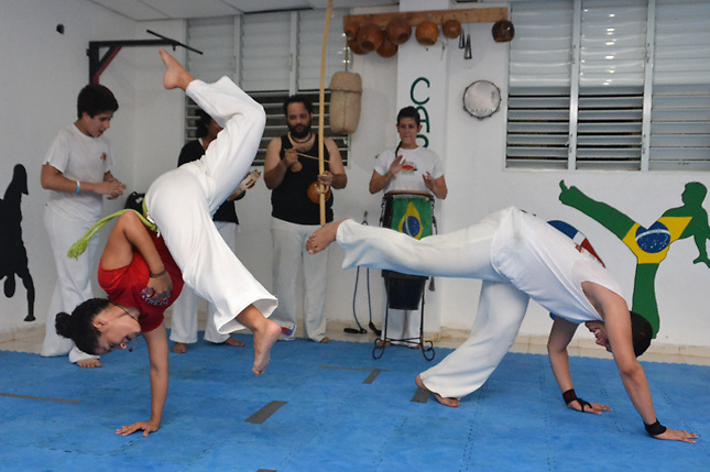 La Capoeira sigue creciendo en RD a ritmo del &quot;birimbau&quot; (Fotos)