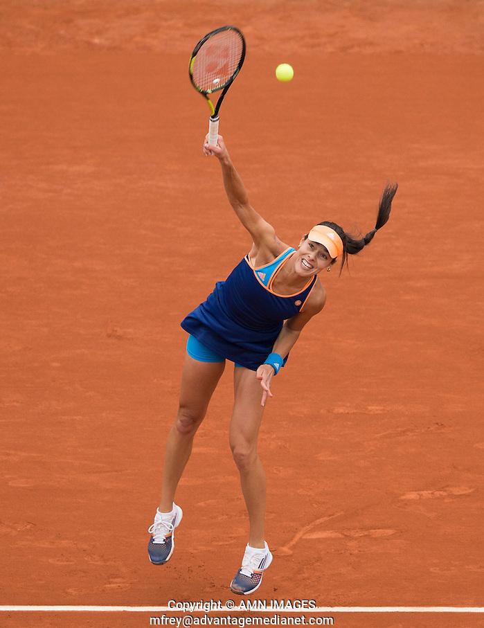 ANA IVANOVIC (SRB) Tennis - French Open 2014 -  Toland Garros - Paris -  ATP-WTA - ITF - 2014  - France -  29 May 2014.  © AMN IMAGES (FREY/FREY- AMN Images)