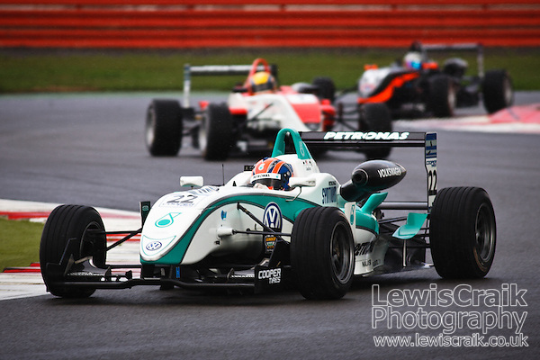 Jazeman Jaafar (Malaysia) driving for Carlin in Britsh Forumla 3 at Silverstone 14th August 2010 (Lewis Craik)