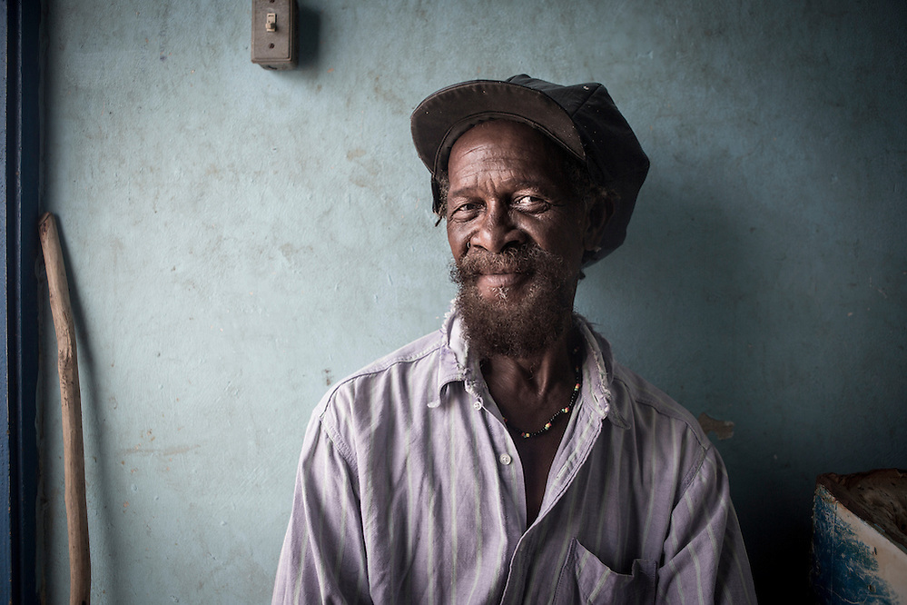Owen Blake, a fisher resident of Old Harbour Bay in Jamaica (Robin Moore)