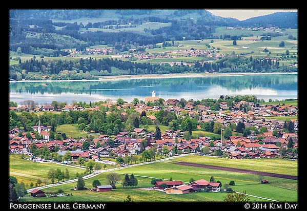 Forggensee Lake Füssen, Germany May 2014 (Kim Day)
