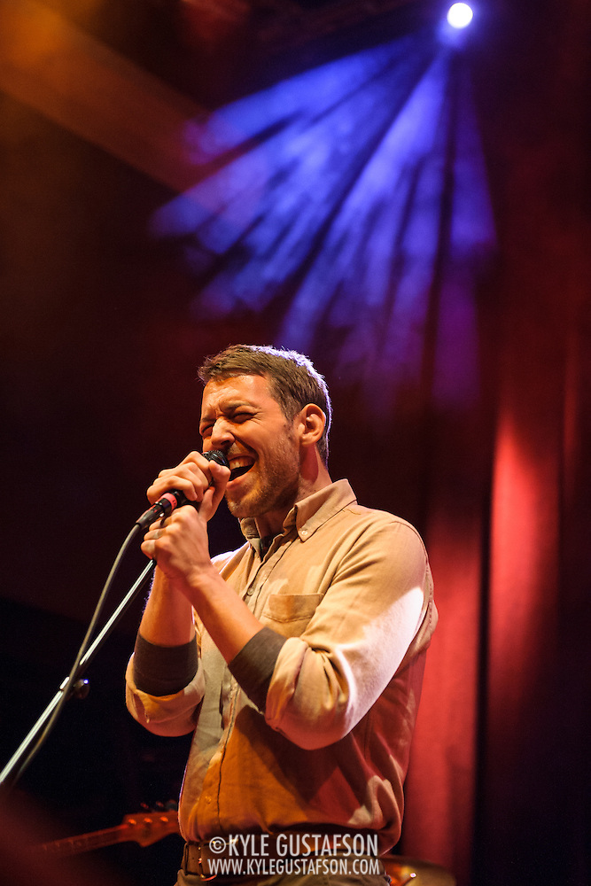 WASHINGTON, DC - January 24th, 2014 -  Fleet Foxes' Robin Pecknold performs at the 9:30 Club in Washington, D.C. with members of Beach House, The Walkmen, Wye Oak, Grizzly Bear and other bands during a tribute to Gene Clark's seminal 1974 album, No Other.  (Photo by Kyle Gustafson /  For The Washington Post) (Kyle Gustafson/For The Washington Post)