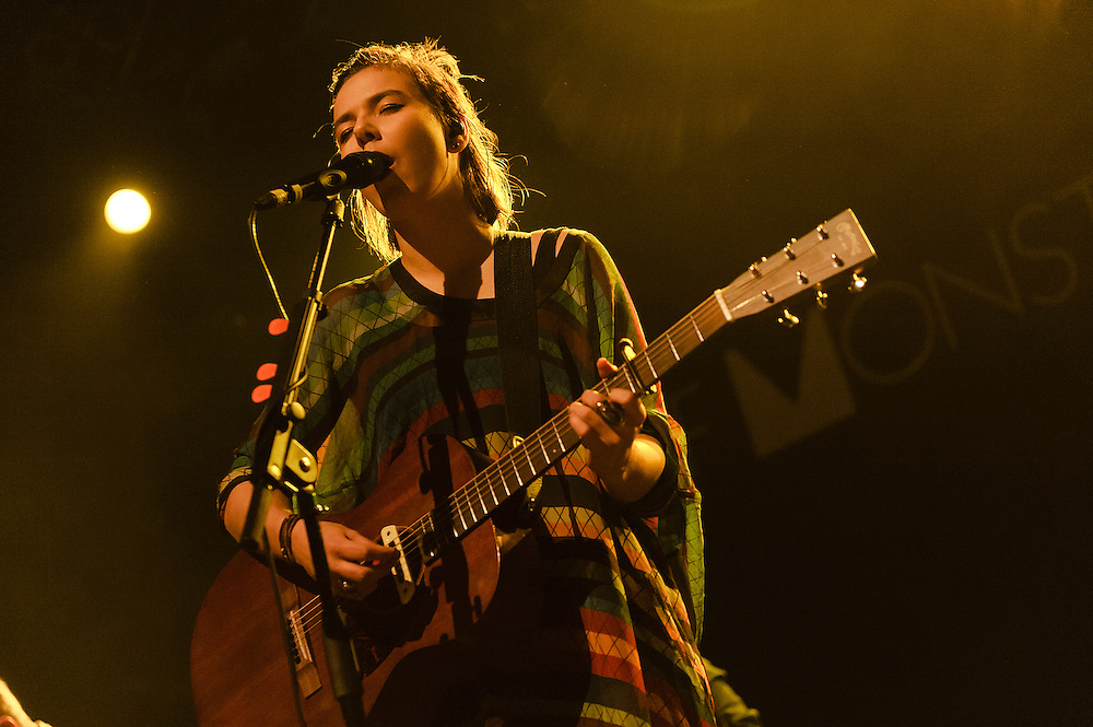 Photos of the Icelandic band Of Monsters and Men performing live at Terminal 5, NYC. November 20, 2012. Copyright © 2012 Matthew Eisman. All Rights Reserved. (Photo by Matthew Eisman/Getty Images)