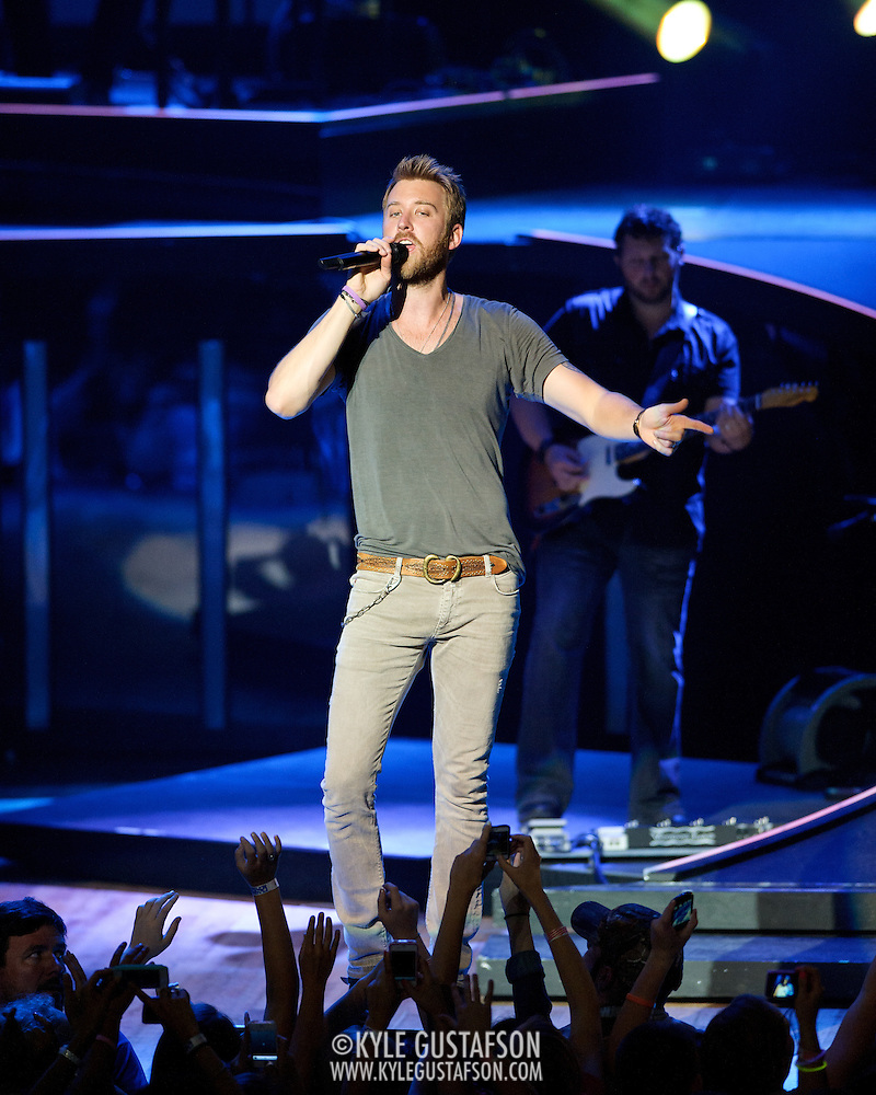COLUMBIA, MD -  May 20th, 2012 - Charles Kelley of the Grammy Award-winning group Lady Antebellum performs to a packed house at Merriweather Post Pavilion in COlumbia, MD.  The group's last album, We Own The Night, reached #1 on the US Billboard 200. (Photo by Kyle Gustafson/For The Washington Post) (Kyle Gustafson/For The Washington Post)