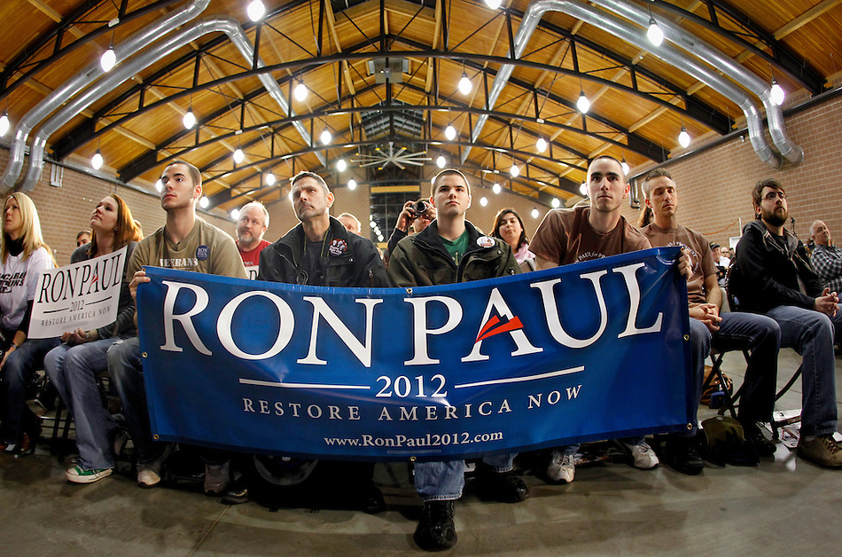 during a campaign stop in Des Moines, Iowa on December 28, 2011. (Christopher Gannon/MCT) (Christopher Gannon)
