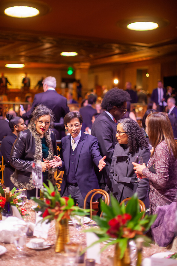 The 2019 Mayor's Inaugural Gala to benefit the Oakland Promise was held on January 11, 2019 at the Fox Theatre in Oakland. (bryan farley)