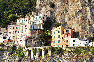 Houses of Amalfi, Italy (© Paul Williams 2009)
