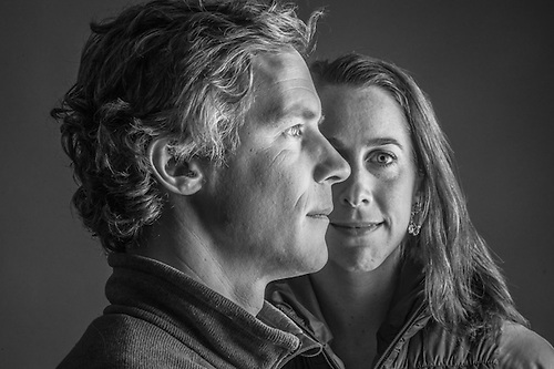 Merged Couples Piper Foster and Photographer Nathanial Wilder, Anchorage (© Clark James Mishler)