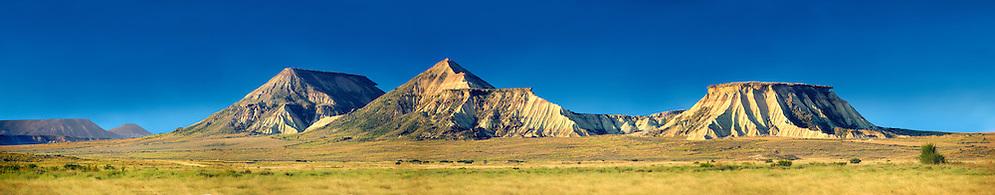Castildeterra rock formation in the Bardena Blanca area of the Bardenas Riales Natural Park, Navarre, Spain (Paul E Williams)