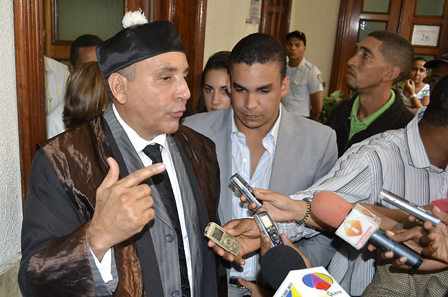 El abogado Carlos Balcácer hizo la revelación.