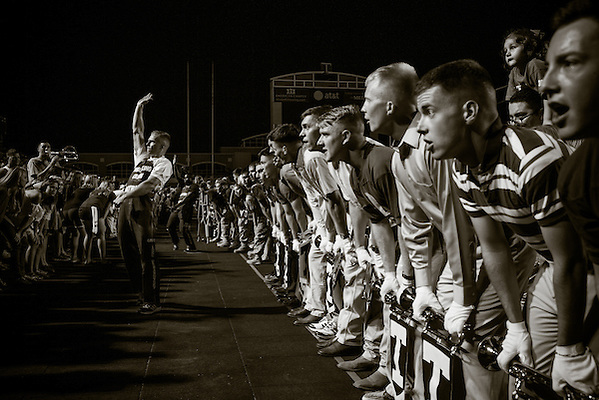 COLLEGE STATION, TX - SEPTEMBER 14: Midnight Yell, Alabama at Texas A&M, pphotographed at Kyle Field in College Station, Texas on September 14 2013. Photograph © 2013 Darren Carroll (Darren Carroll)