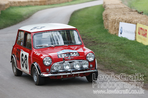 Ex works Mini Cooper at Cholmondley Pageant of Power (Lewis Craik/Lewis Craik Photography)