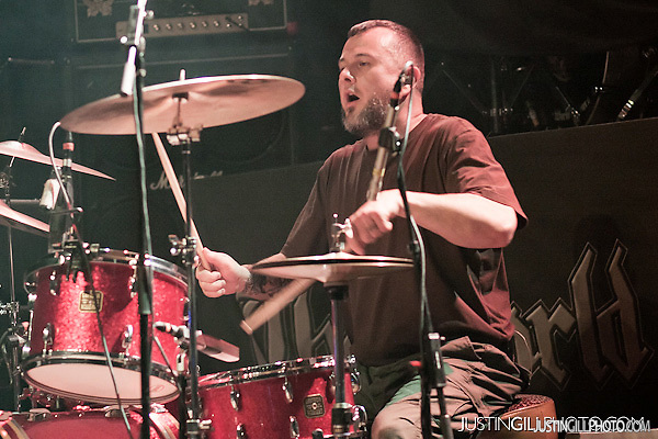 Clutch live concert Congress Theater Chicago (Justin Gill)