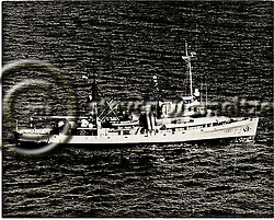 1950s photo of USS Kittiwake, ASR-13 (Steven Smeltzer)