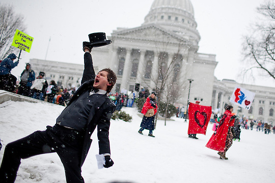 Protests in Madison