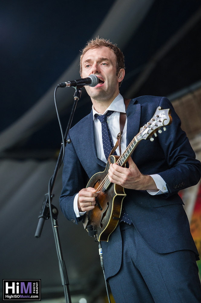 The Punch Brothers perform at Jazz Fest 2016. (HIGH ISO Music, LLC)