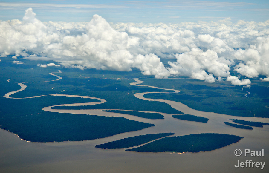 The Xingu River, a tributary of the Amazon, in the northern Brazilian state of Para.