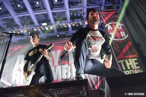 A Day To Remember performing at the Pageant in St. Louis on April 3, 2013. (Todd Owyoung)