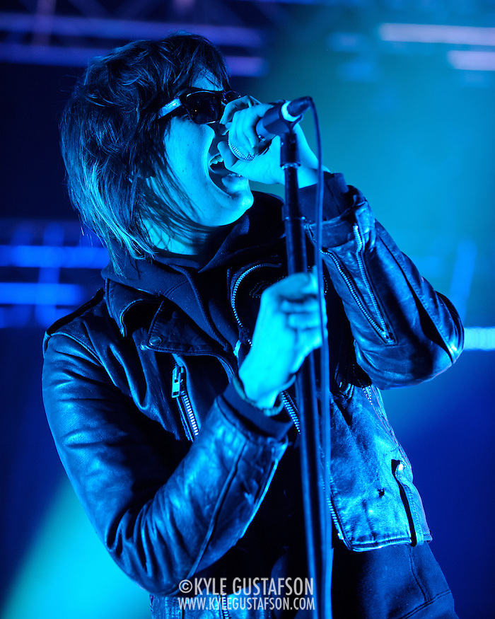 COLUMBIA, MD - May 1st, 2011: Julian Casablancas of The Strokes performs during the 2011 Sweetlife Festival at Merriweather Post Pavilion.  (Photo by Kyle Gustafson / For The Washington Post) (Photo by Kyle Gustafson / For The Washington Post)