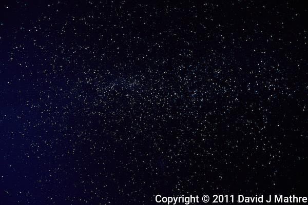 Night Sky in Patagonia. Hosteria El Pilar, El Chalten, Argentina. Image taken with a Nikon D3x and 16 mm f/2.8 fisheye lens (ISO 400, 16 mm, f/4.5, 58 sec) (David J Mathre)