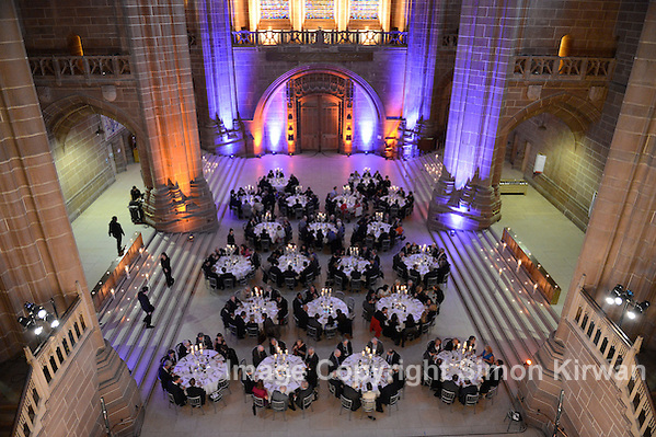 DDF Convention Dinner June 2012, Liverpool Cathedral -  event photography by Simon Kirwan