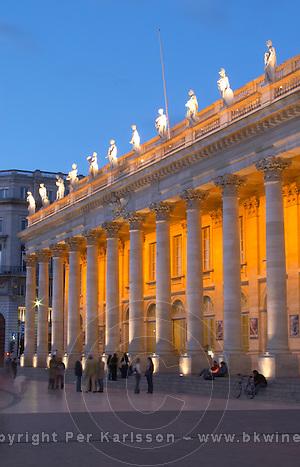 Le Grand Theatre, Bordeaux