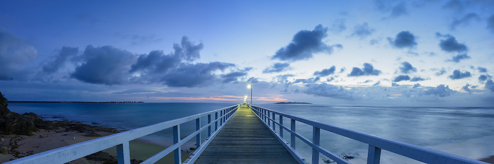 Dawn at Point Lonsdale Pier, Victoria, Australia (Mark Eden)