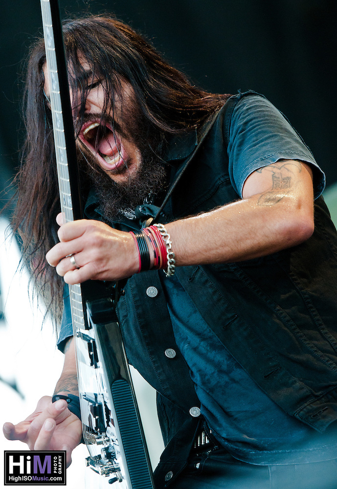 Machine Head performing at Heavy MTL 2011 in Montreal, QC. (Golden G. Richard III)