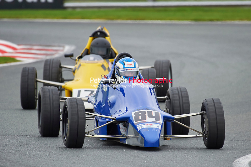 #84 Stephen Bracegirdle Van Diemen RF89 during Avon Tyres Formula Ford 1600 Northern Championship - Pre 90 Race 1 as part of the BRSCC Fun Cup Oulton Park 17th October 2015 at Oulton Park, Little Budworth, Cheshire, United Kingdom. October 17 2015. World Copyright Taylor/PSP. Copy of publication required for printed pictures.  Every used picture is fee-liable. http://archive.petertaylor-photographic.co.uk (Taylor/PSP)