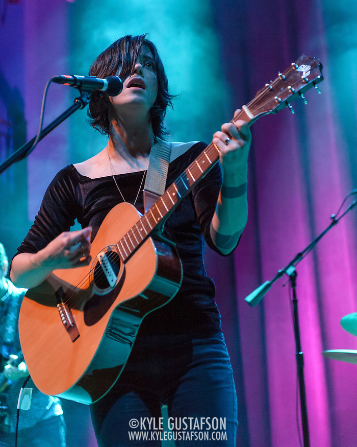 WASHINGTON, D.C. - June 17th, 2014 - Sharon Van Etten performs at the 9:30 Club in Washington, D.C. In May Van Etten released her fourth studio album, Are We There, to critical acclaim. (Photo by Kyle Gustafson / For The Washington Post) (Kyle Gustafson/For The Washington Post)