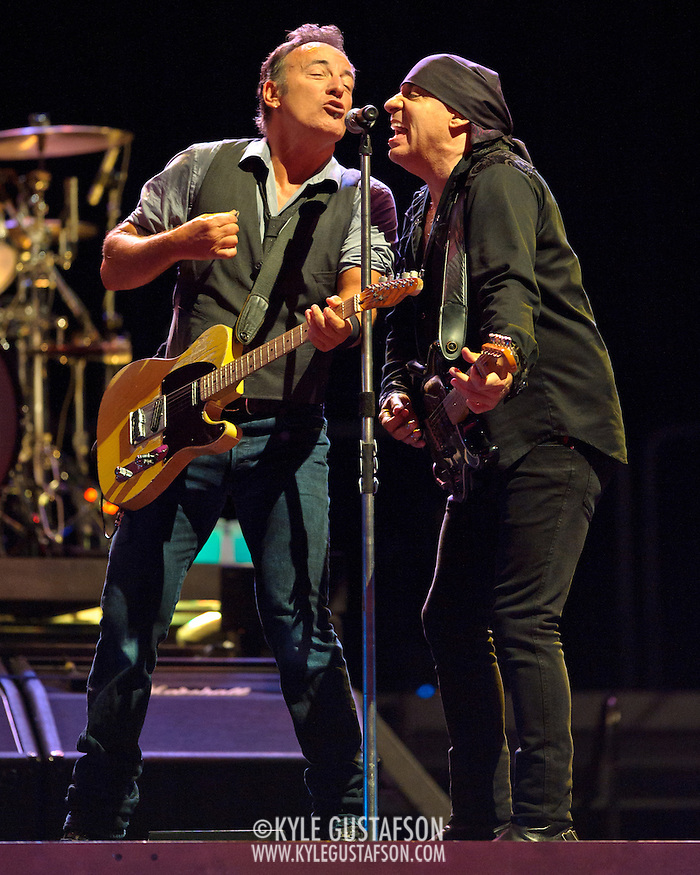 WASHINGTON, DC - August 14th, 2012- Bruce Springsteen and the E Street Band perform at Nationals Park in Washington, D.C. (Kyle Gustafson)