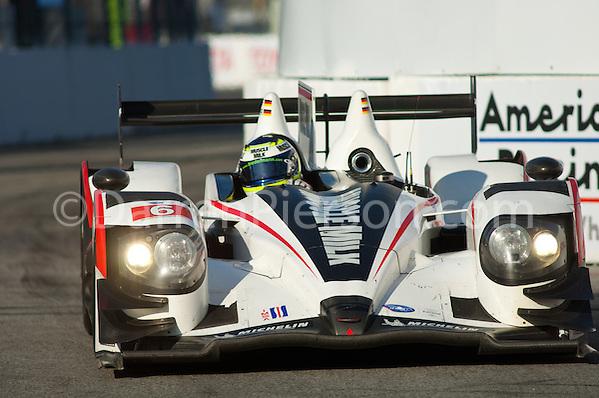 #6 Muscle Milk Pickett Racing HPD ARX-03a: Lucas Luhr, Klaus Graf (Darren Pierson)