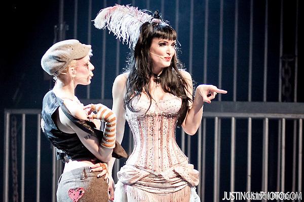 Emilie Autumn live concert @ El Rey Theatre Los Angeles (Justin Gill)