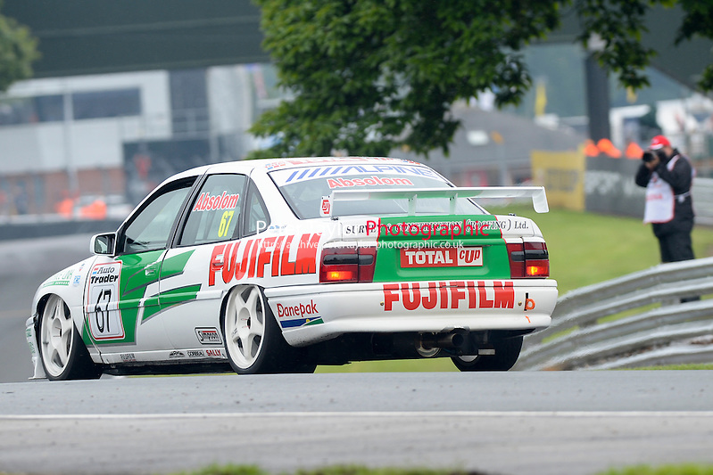 #67 Tony Absolom - Vauxhall Cavalier during HSCC Super Touring Car Championship qualifying at Oulton Park, Little Budworth, Cheshire, United Kingdom. June 07 2014. World Copyright Peter Taylor/PSP. Copy of publication required for printed pictures.  Every used picture is fee-liable. http://archive.petertaylor-photographic.co.uk (Peter Taylor/PSP)