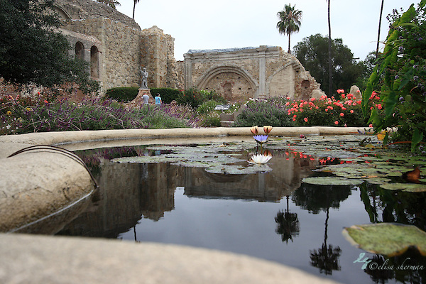 Mission at San Juan Capistrano (Elisa Sherman)