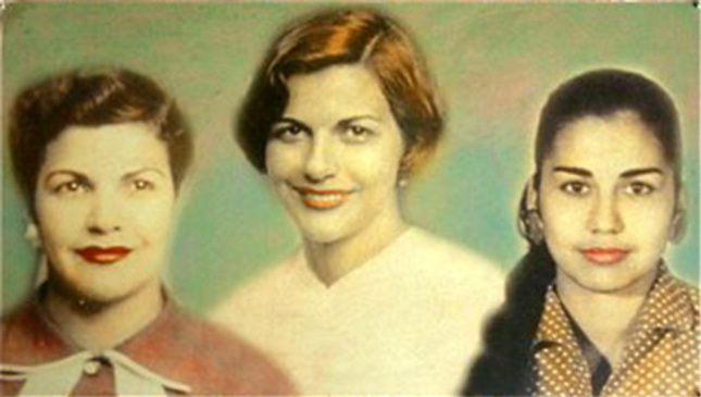 Patria, Minerva y María Teresa, las Hermanas Mirabal.