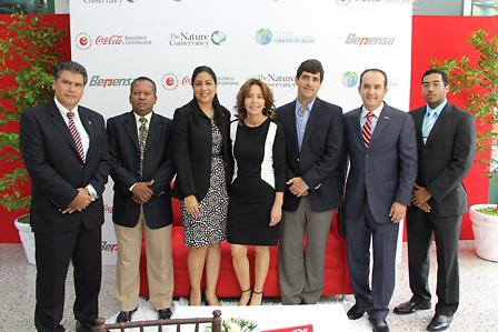 Daniel Saenz, Francisco Núñez, Vielka Guzmán, María Clara, Aurelio Ramos, Andrés Centella y Erick Conde