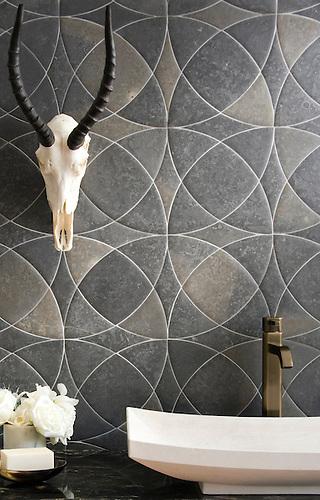 Zazen Grande stone mosaic