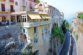 View of an interesting Sorrento street in Italy (Ian C Whitworth)