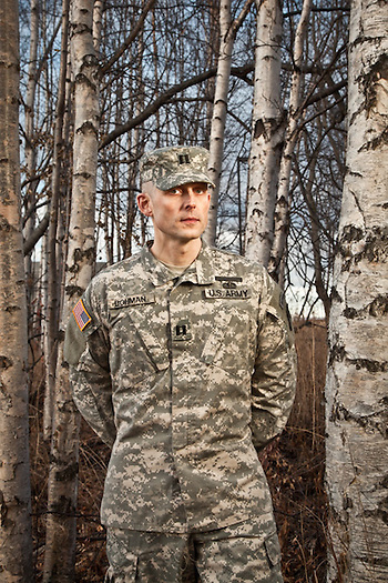 National Guard Captain Andreas Bohman, Anchorage, Alaska (Clark James Mishler)