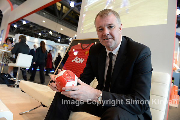 Gary Pallister NAPF 2012 BT Convention Centre Liverpool - Photo By Simon Kirwan