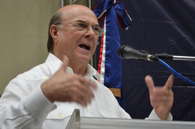 Hipólito Mejía, candidato por el PRD