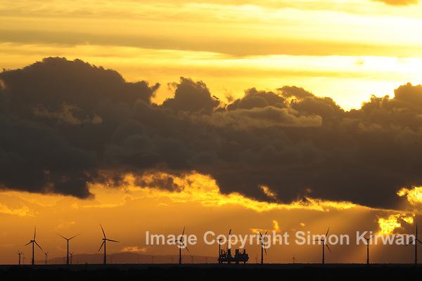 Burbo Bank Offshore Wind Farm, River Mersey, Liverpool Bay - Environmental Photography By Simon Kirwan