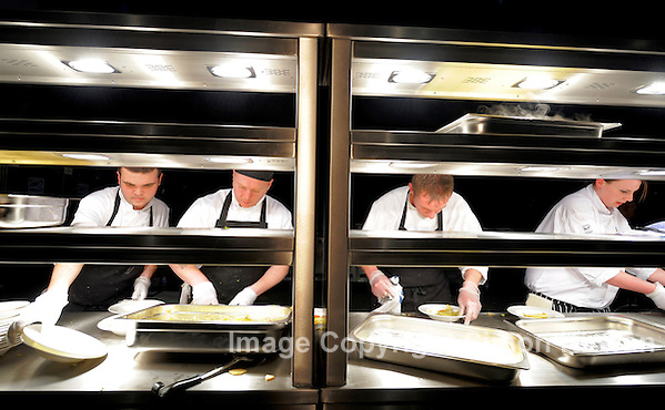 Chefs at BT Convention Centre Liverpool. Photo By Simon Kirwan